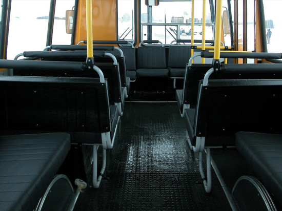 пассажирский салон автобуса ПАЗ 3206