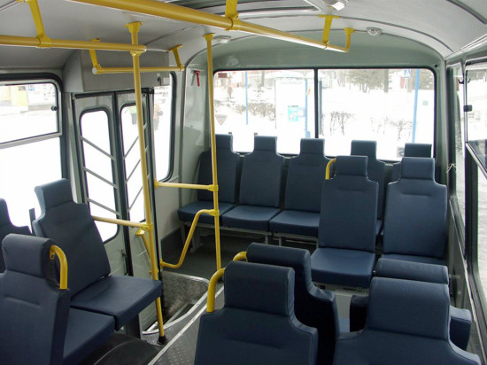салон автобуса ПАЗ-4234