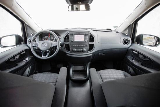 интерьер Mercedes-Benz Vito Van (W447)