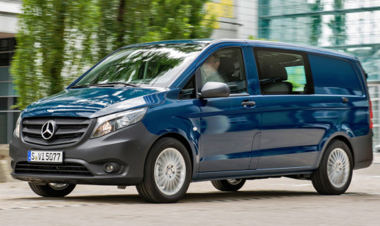 грузопассажирский Mercedes-Benz Vito Mixto (W447)