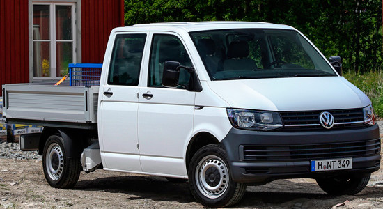 Volkswagen Transporter T6 (Pritsche и Chassis) на IronHorse.ru ©