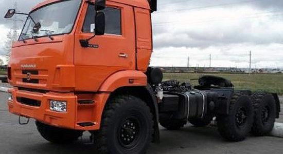 КамАЗ-44108 (обновленный) на IronHorse.ru ©