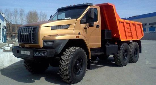 Урал NEXT 6x6 (самосвал) на IronHorse.ru ©