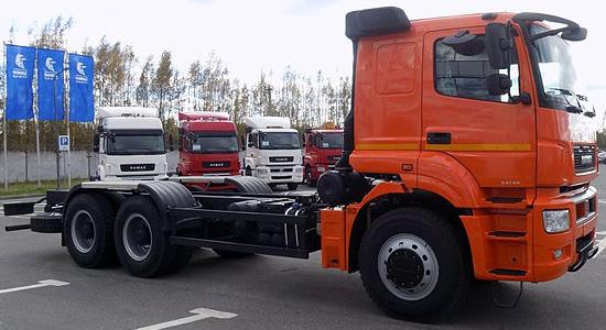 КамАЗ-6580 (шасси) на IronHorse.ru ©