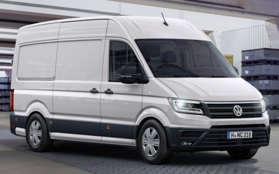 цельнометаллический фургон Фольксваген Крафтер 2-го поколения