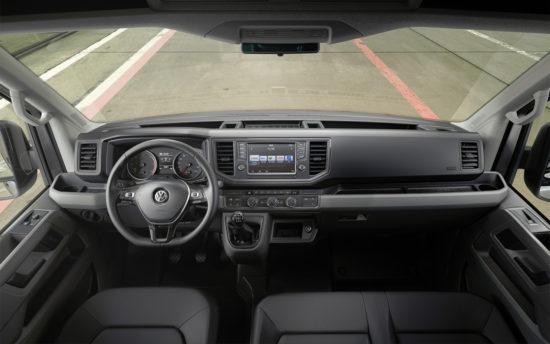 интерьер салона VW Crafter 2 Van