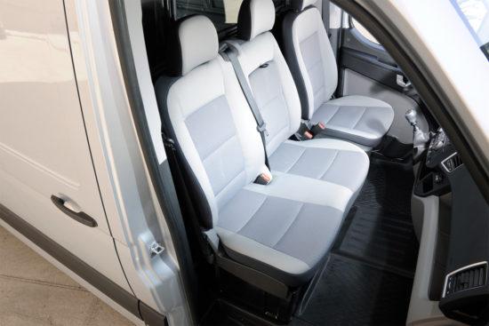 интерьер кабины Hyundai H350 VAN