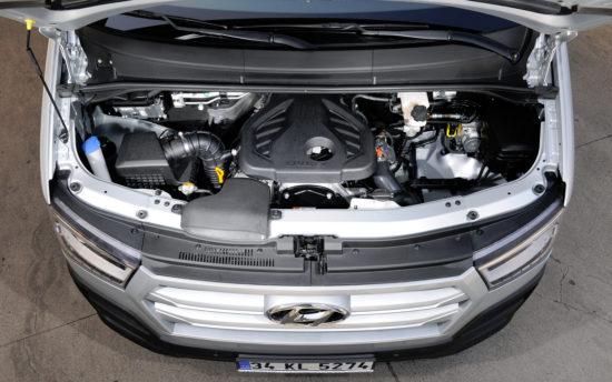 под капотом Hyundai H350 VAN