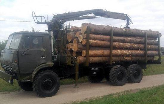 КамАЗ-4310 (сортиментовоз)