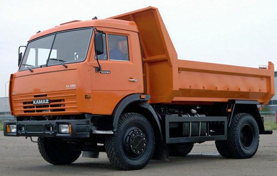 КамАЗ-43255 самосвал (дореформенный)