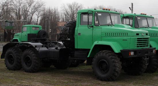 КрАЗ-6446 (тип 1) на IronHorse.ru ©