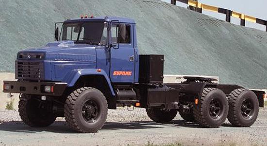 КрАЗ T17.0EX (Бурлак) на IronHorse.ru ©