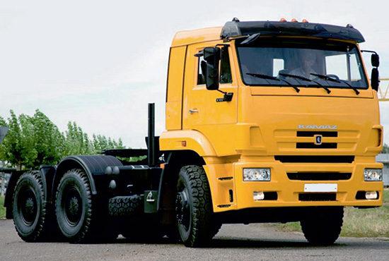 КамАЗ-6460 (обновленный)