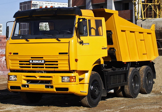 КамАЗ 65115 (самосвал старый)