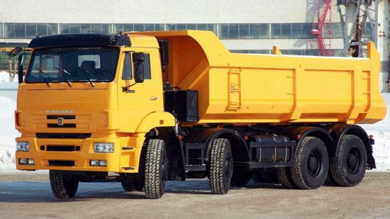 КамАЗ-65201 самосвал (обновленный)
