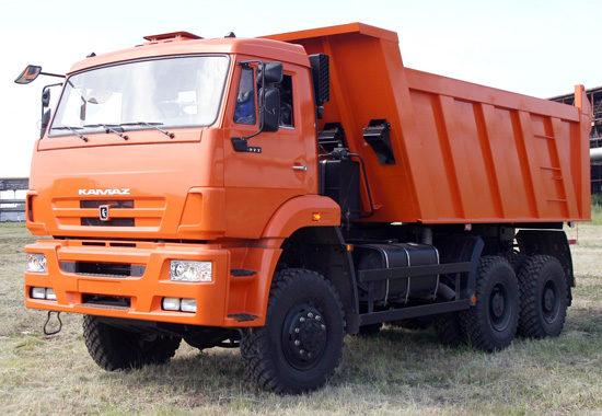 КамАЗ-6522 самосвал (обновленный)