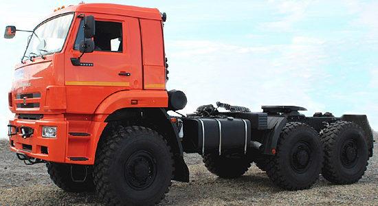 КамАЗ-65221 (обновленный) на IronHorse.ru ©