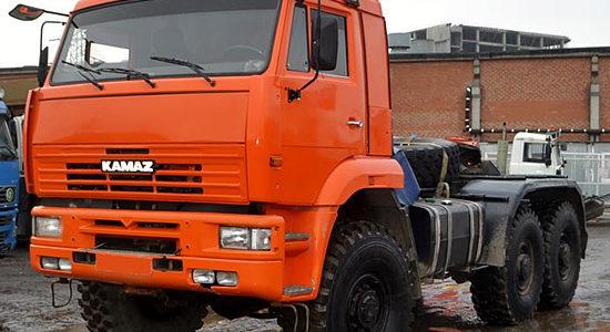 КамАЗ-65221 (дореформенный) на IronHorse.ru ©