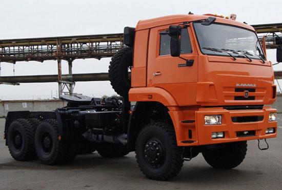 КамАЗ-65225 New