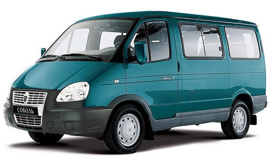 микроавтобус Соболь-Бизнес ГАЗ-2217