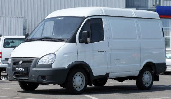 цельнометаллический фургон Соболь-Бизнес ГАЗ-2752