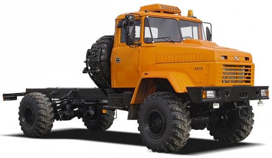 КрАЗ-5233HE (тип 2)