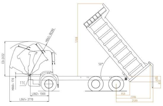 Scania P400 CB6x4EHZ