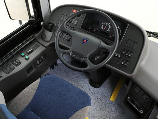 место водителя Scania OmniLink