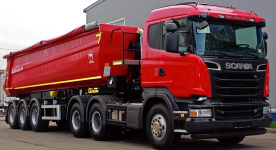 Scania R500 (тягач 6x4) на IronHorse.ru ©