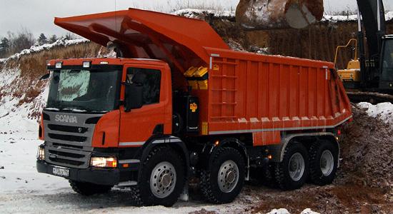 Scania G440 (самосвал 8x4) на IronHorse.ru ©