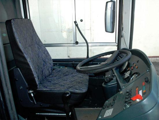 место водителя ЛиАЗ-525660