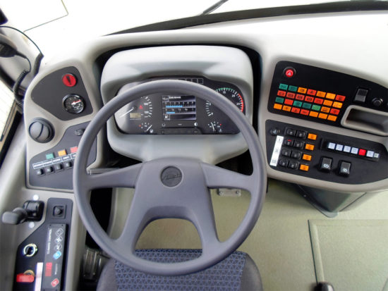 водительское место ЛиАЗ-529230
