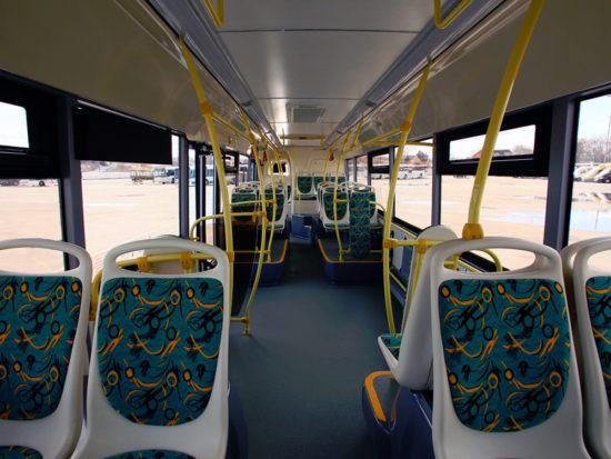 пассажирский салон ЛиАЗ-529230