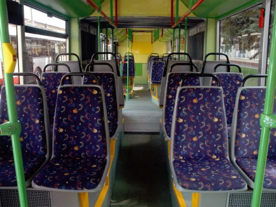 пассажирский салон ЛиАЗ-6213