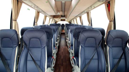 пассажирский салон Volvo 9900