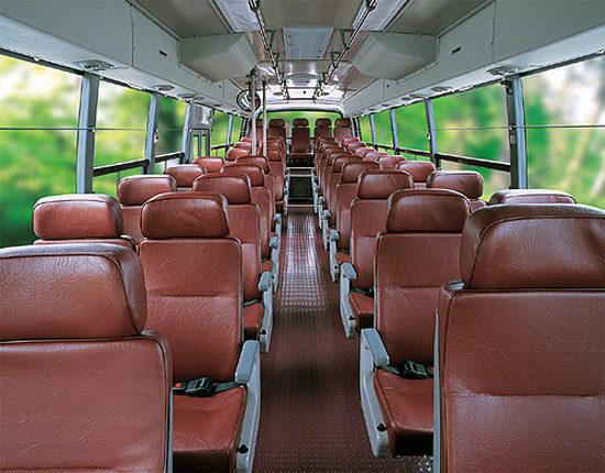 пассажирский салон Daewoo BH117 Royal Cruistar II