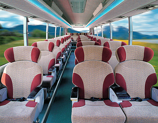 пассажирский салон Daewoo BH120F Royal Cruiser II