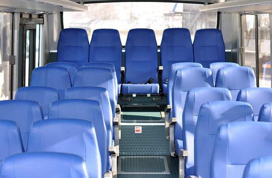 салон пригородного Daewoo BS090