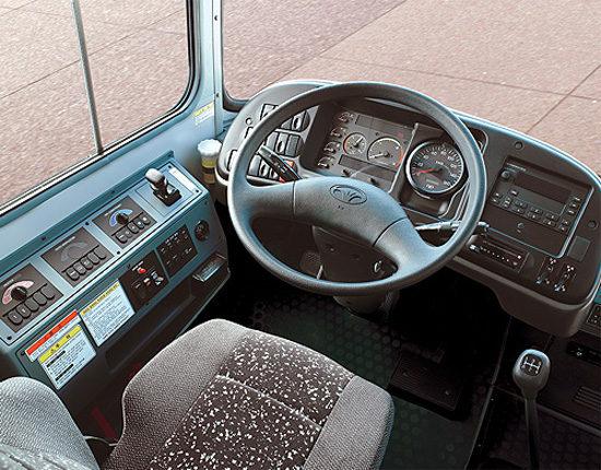 место водителя Daewoo BS106