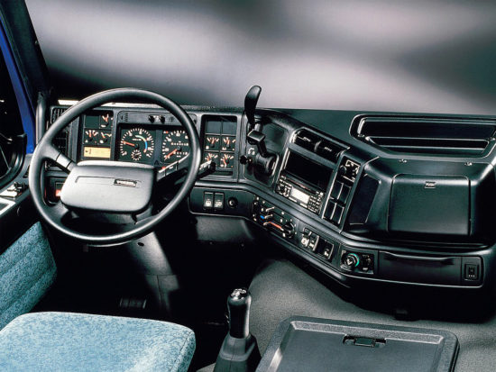 интерьер кабины Volvo FM 1-го поколения