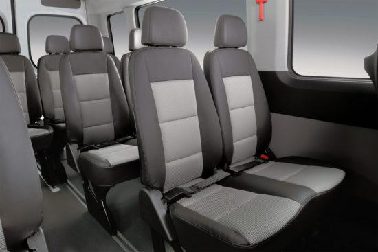 интерьер салона Hyundai H350 Minibus