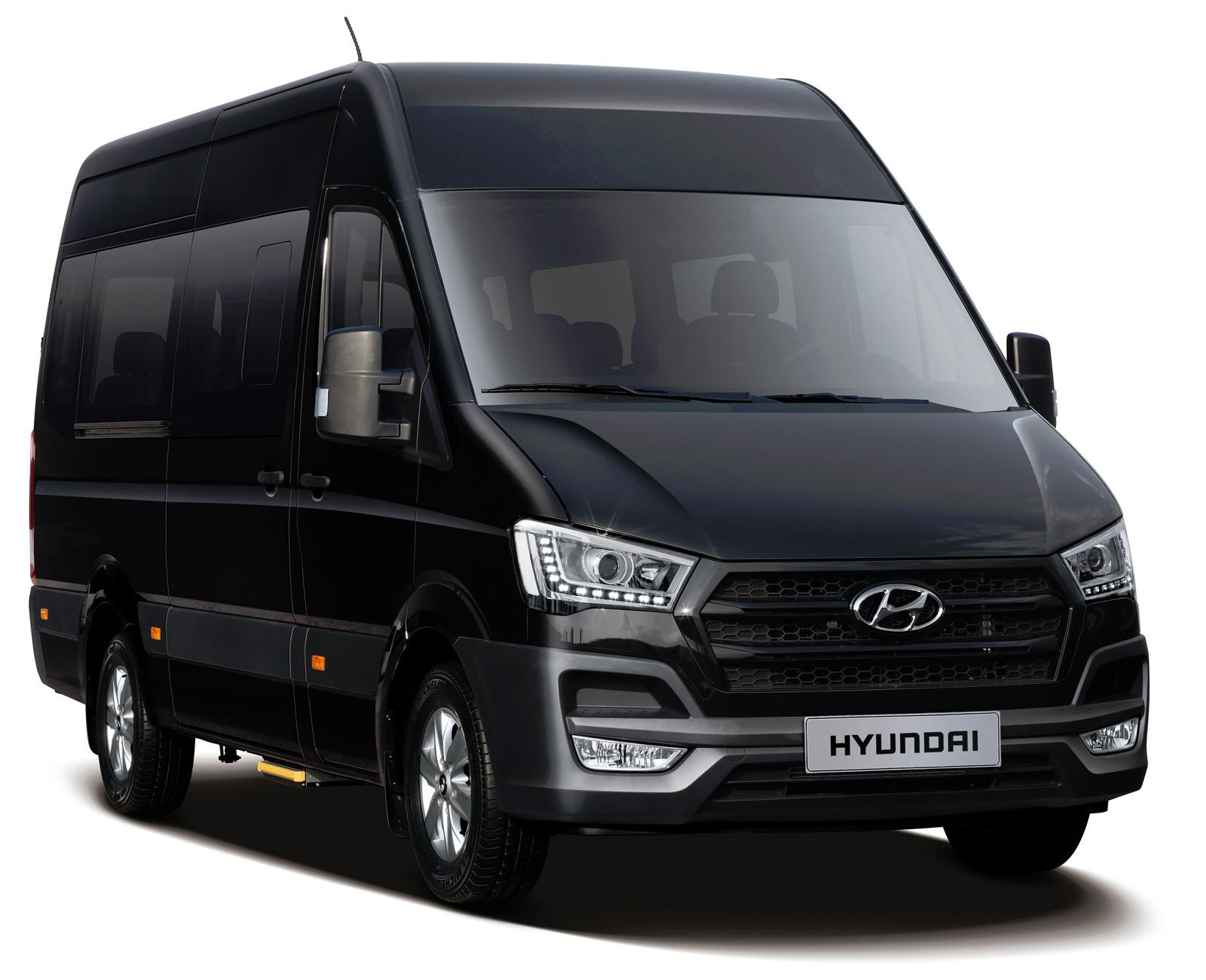 hyundai микроавтобус