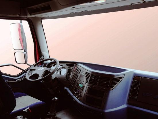 интерьер кабины FAW J6 CA 4250