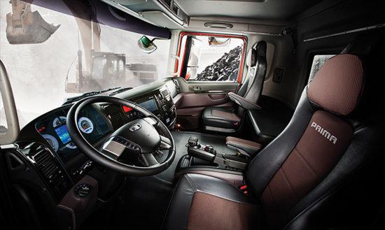интерьер кабины Daewoo Ultra Prima
