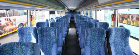 пассажирский салон Scania-ЛиАЗ VOYAGE