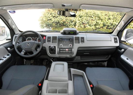 передняя панель и центральная консоль Foton View