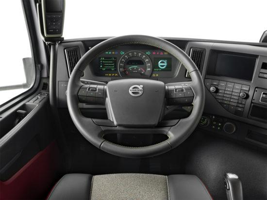 интерьер Volvo FMX II