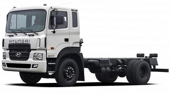 шасси Hyundai HD170 (обновленный)