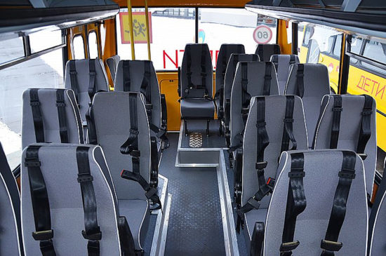 пассажирский салон ПАЗ-32053-70