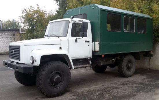 вахтовый автобус ГАЗ-33081 Садко